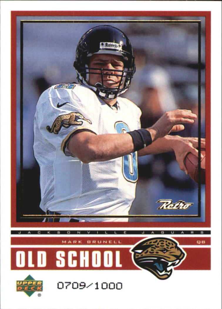1999 Upper Deck Retro Old School/New School #ON7 M.Brunell/B.Huard