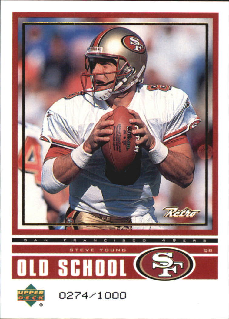 1999 Upper Deck Retro Old School/New School #ON9 S.Young/C.McNown
