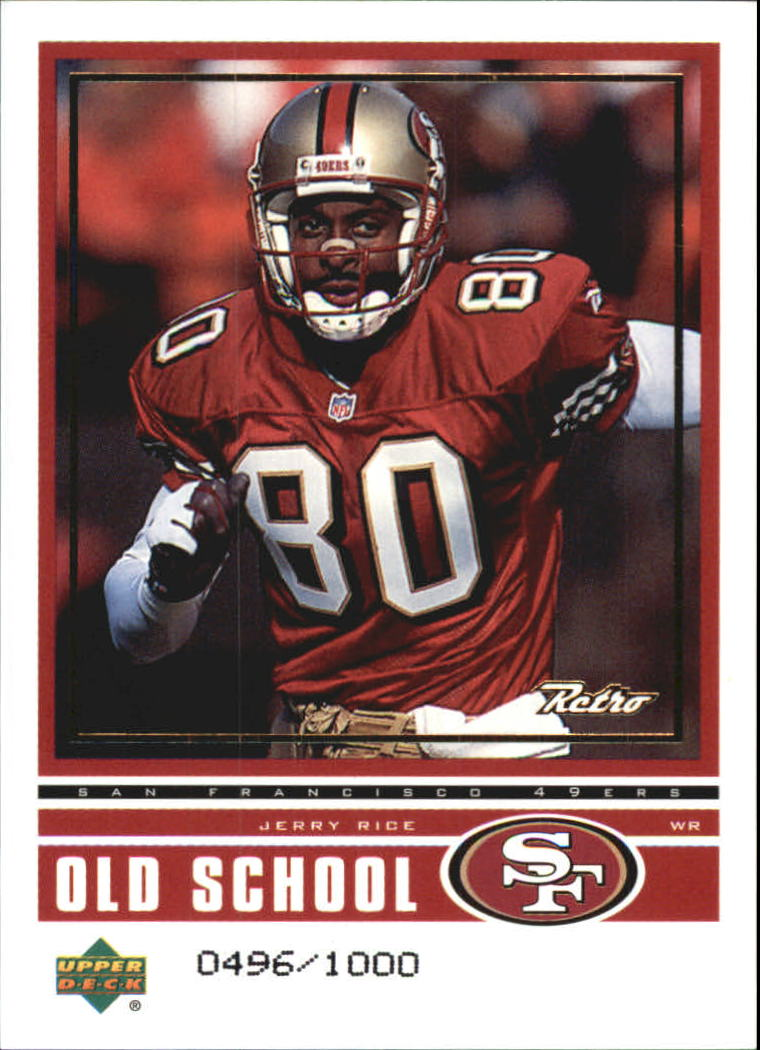 1999 Upper Deck Retro Old School/New School #ON12 J.Rice/T.Owens