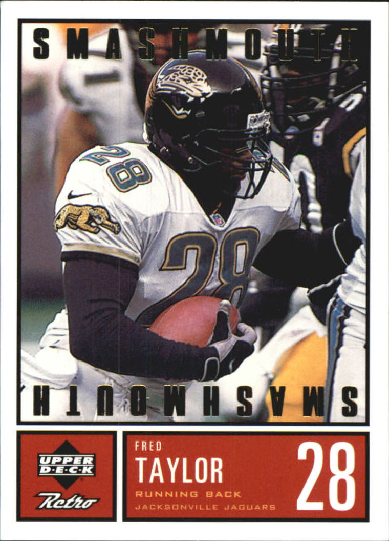 1999 Upper Deck Retro Smashmouth #S1 Fred Taylor