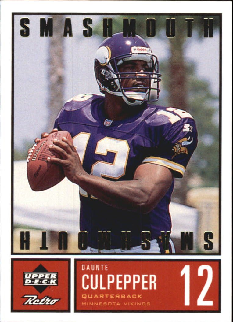 1999 Upper Deck Retro Smashmouth #S5 Daunte Culpepper