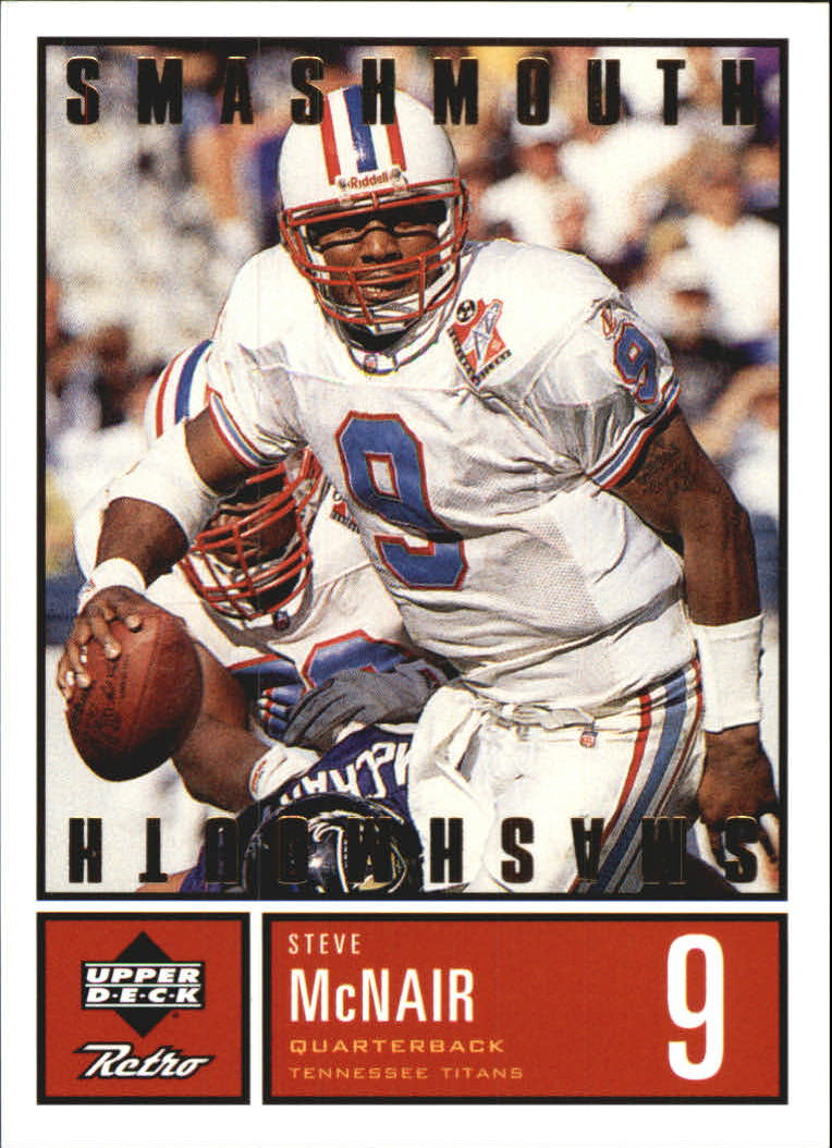 1999 Upper Deck Retro Smashmouth #S7 Steve McNair