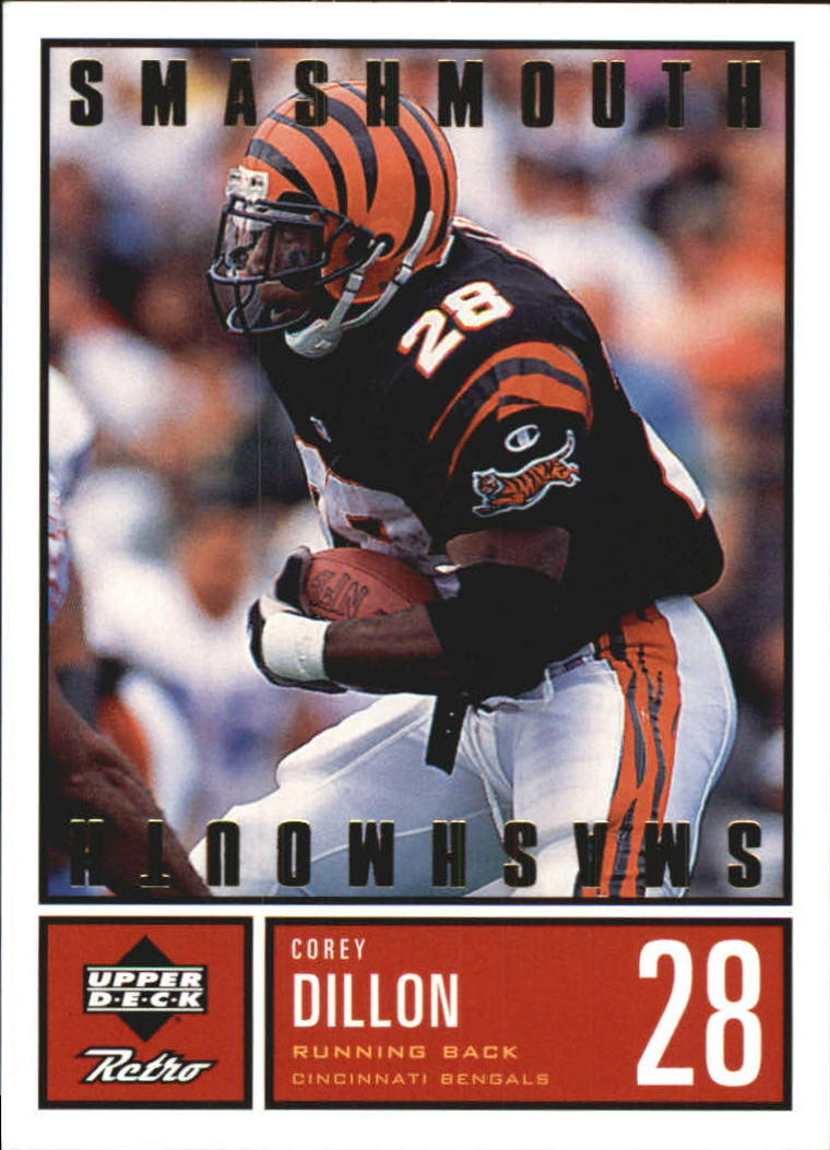 1999 Upper Deck Retro Smashmouth #S8 Corey Dillon