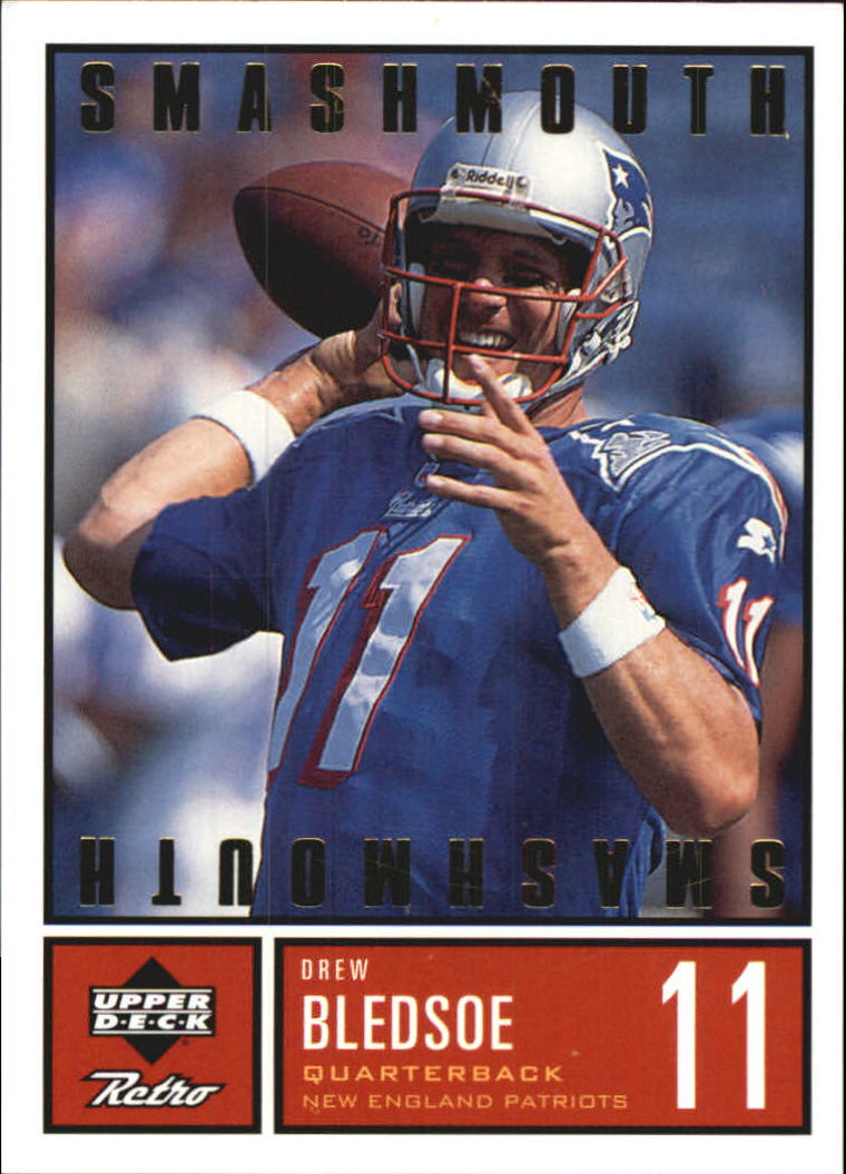 1999 Upper Deck Retro Smashmouth #S11 Drew Bledsoe