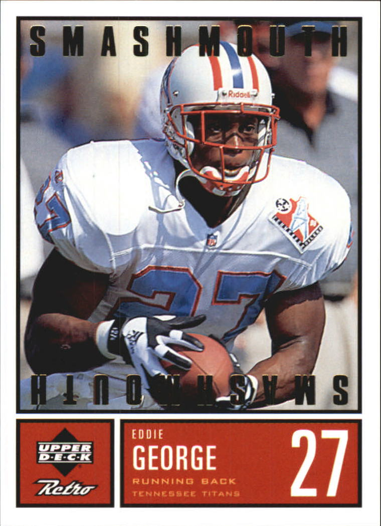 1999 Upper Deck Retro Smashmouth #S15 Eddie George