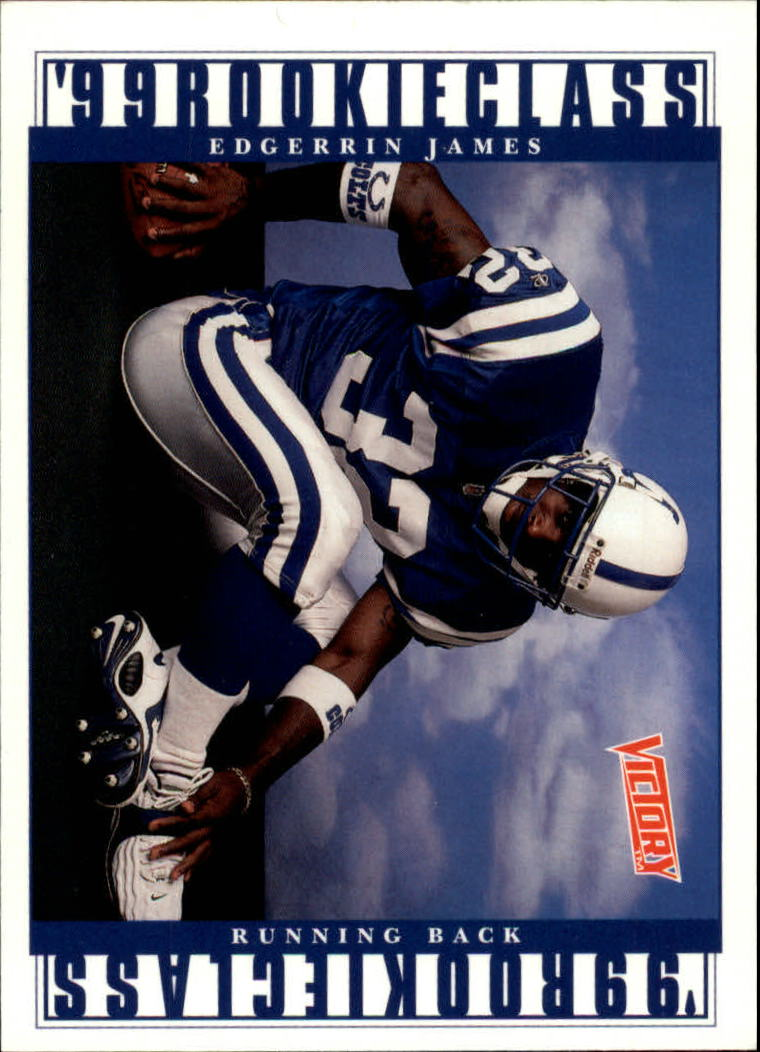 1999 Upper Deck Victory #384 Edgerrin James RC