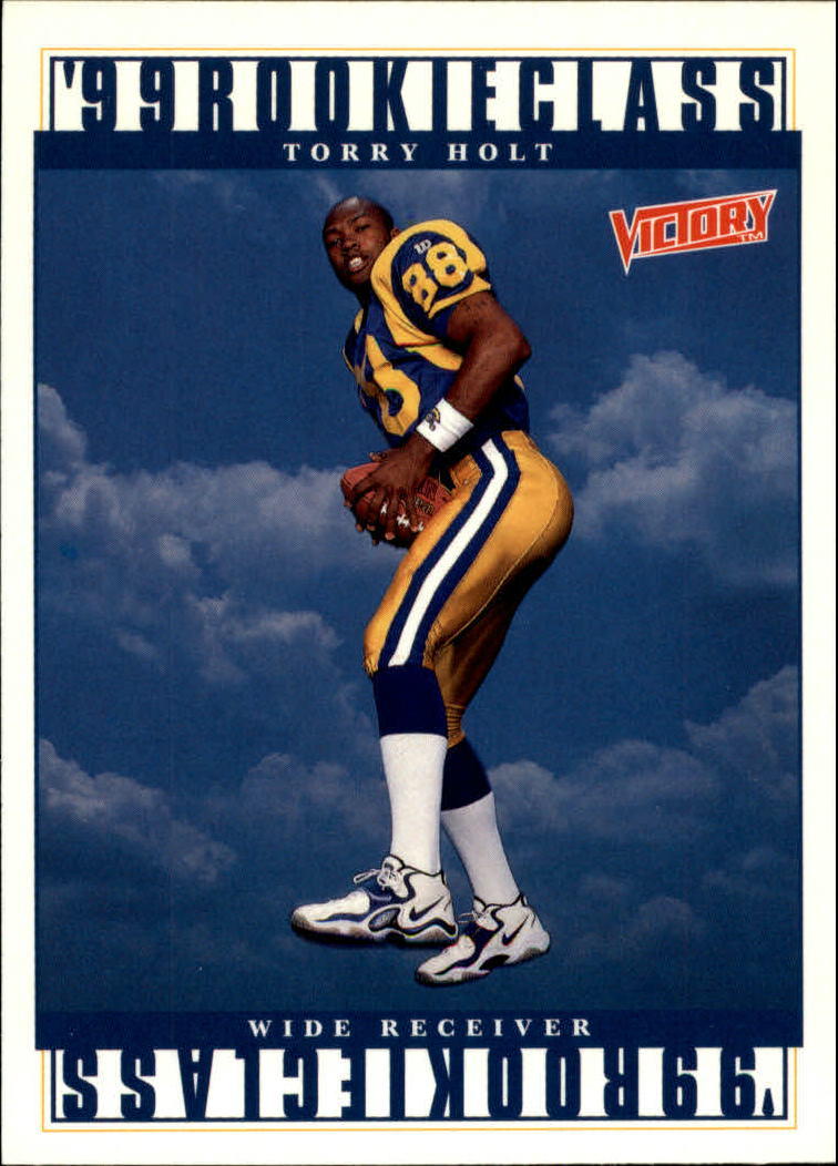 1999 Upper Deck Victory #386 Torry Holt RC
