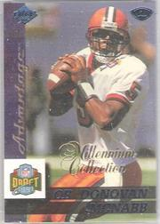 1999 Collector's Edge Millennium Collection Advantage Blue #179 Donovan McNabb
