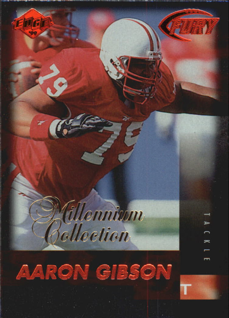 1999 Collector's Edge Millennium Collection Fury #168 Aaron Gibson