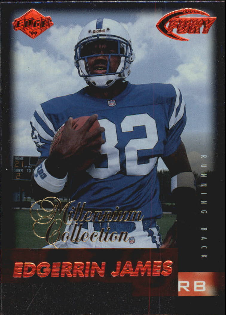 1999 Collector's Edge Millennium Collection Fury #173 Edgerrin James