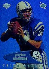 1999 Collector's Edge Odyssey Previews #PM Peyton Manning 3Q