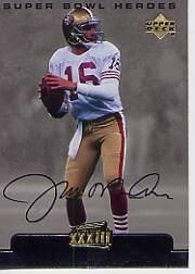 1999 Upper Deck Super Bowl XXXIII #24 Joe Montana