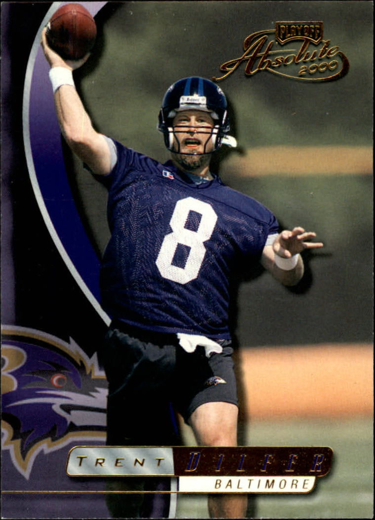 2000 Absolute #15 Trent Dilfer