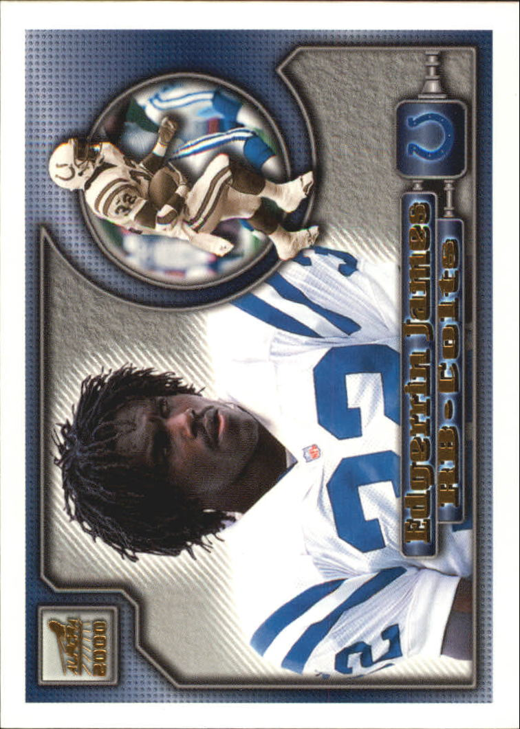 2000 Aurora #58 Edgerrin James