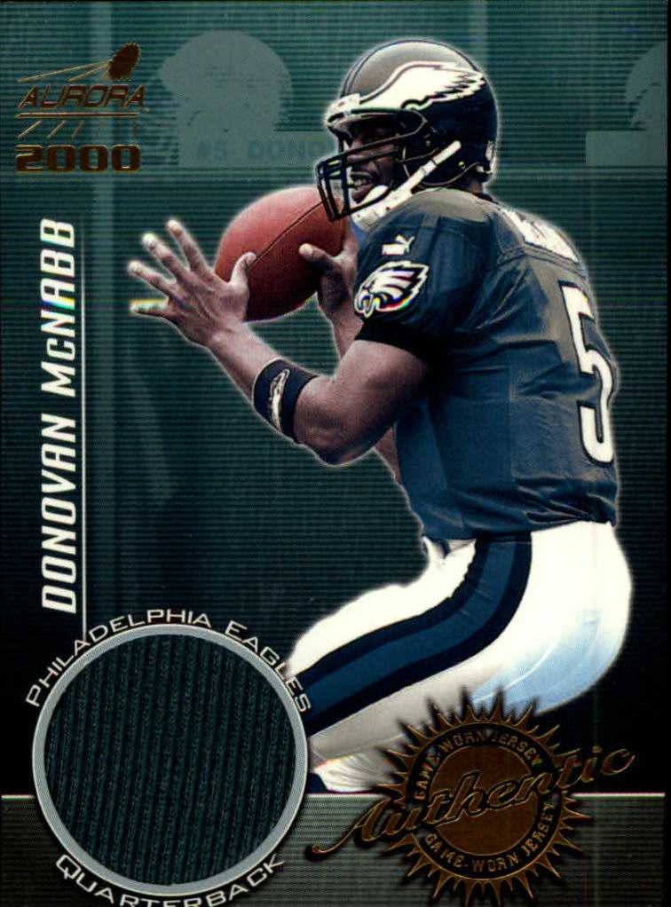 2000 Aurora Game Worn Jerseys #7 Donovan McNabb