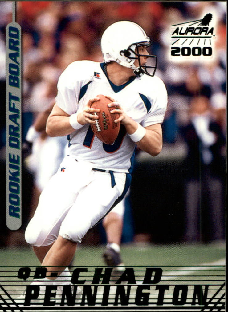 2000 Aurora Rookie Draft Board #15 Chad Pennington