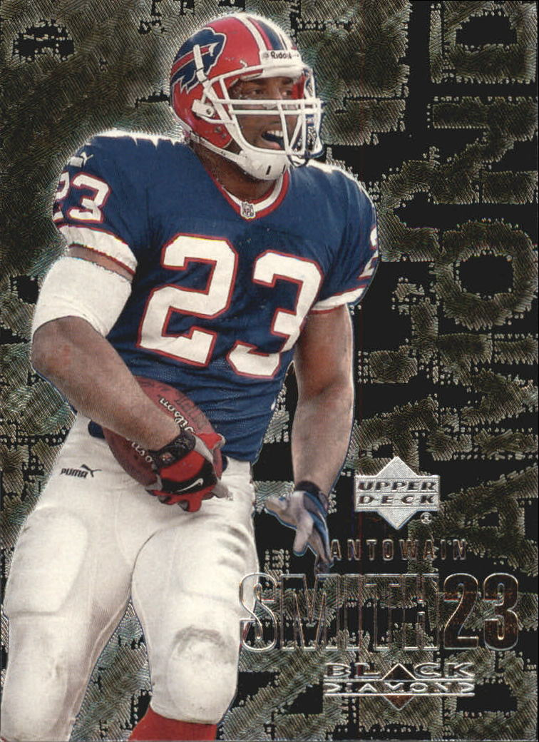 2000 Black Diamond #15 Antowain Smith