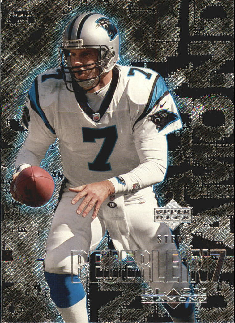 2000 Black Diamond #18 Steve Beuerlein