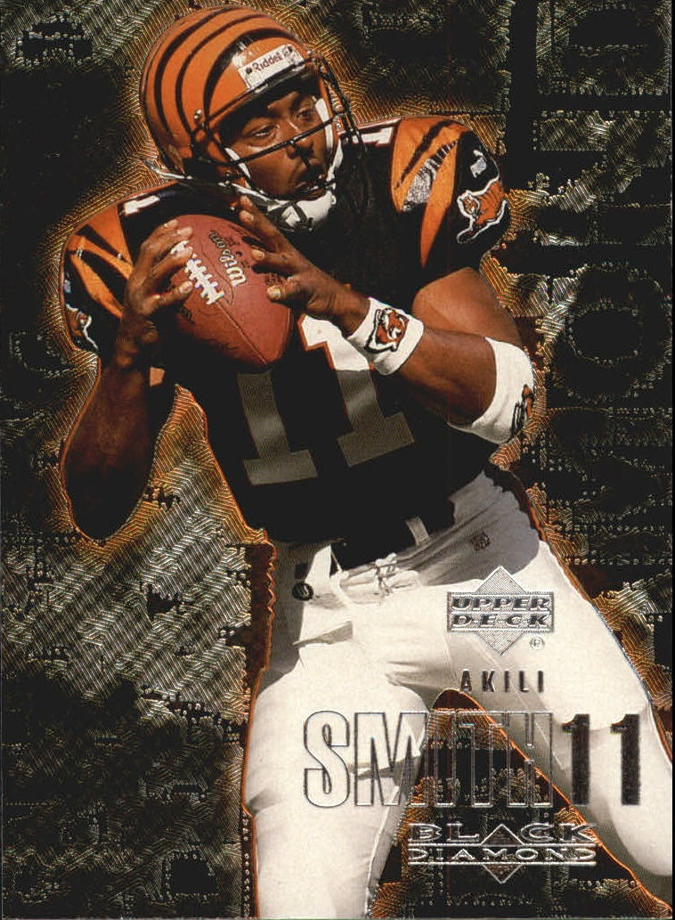 2000 Black Diamond #24 Akili Smith