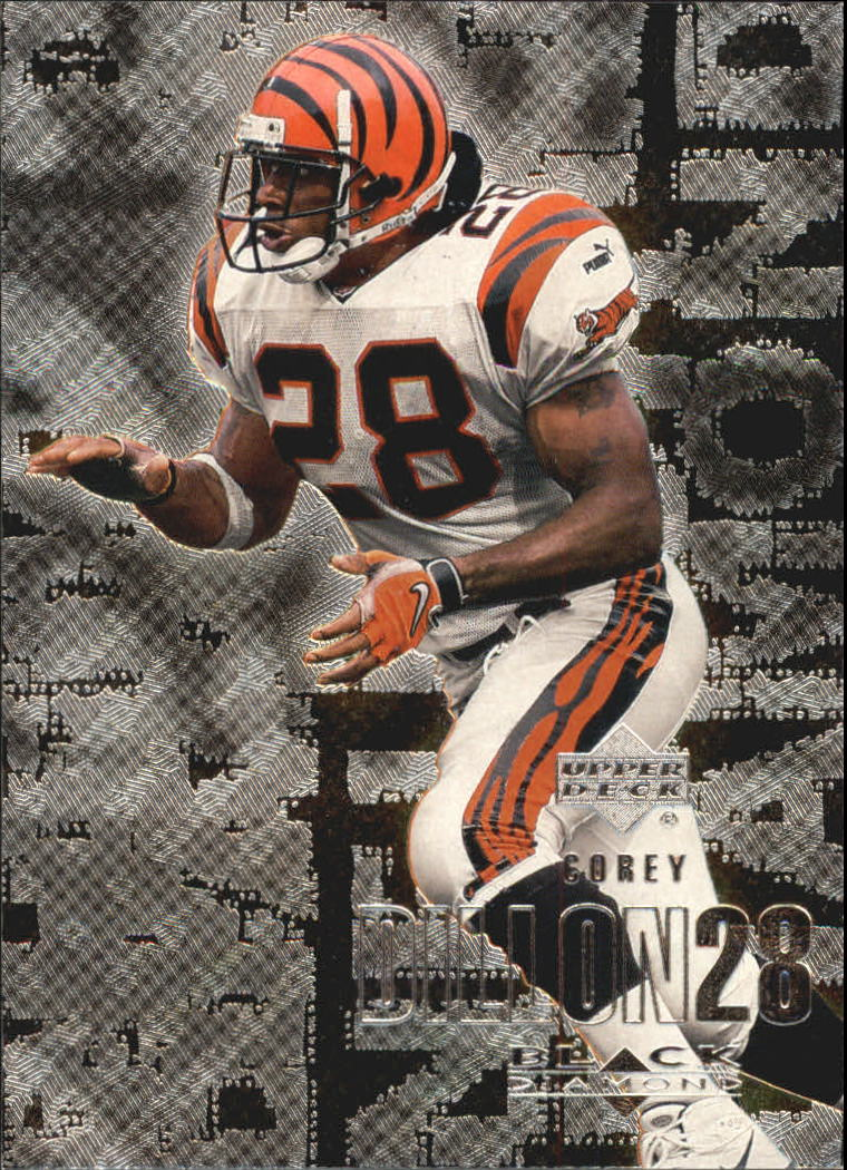2000 Black Diamond #25 Corey Dillon