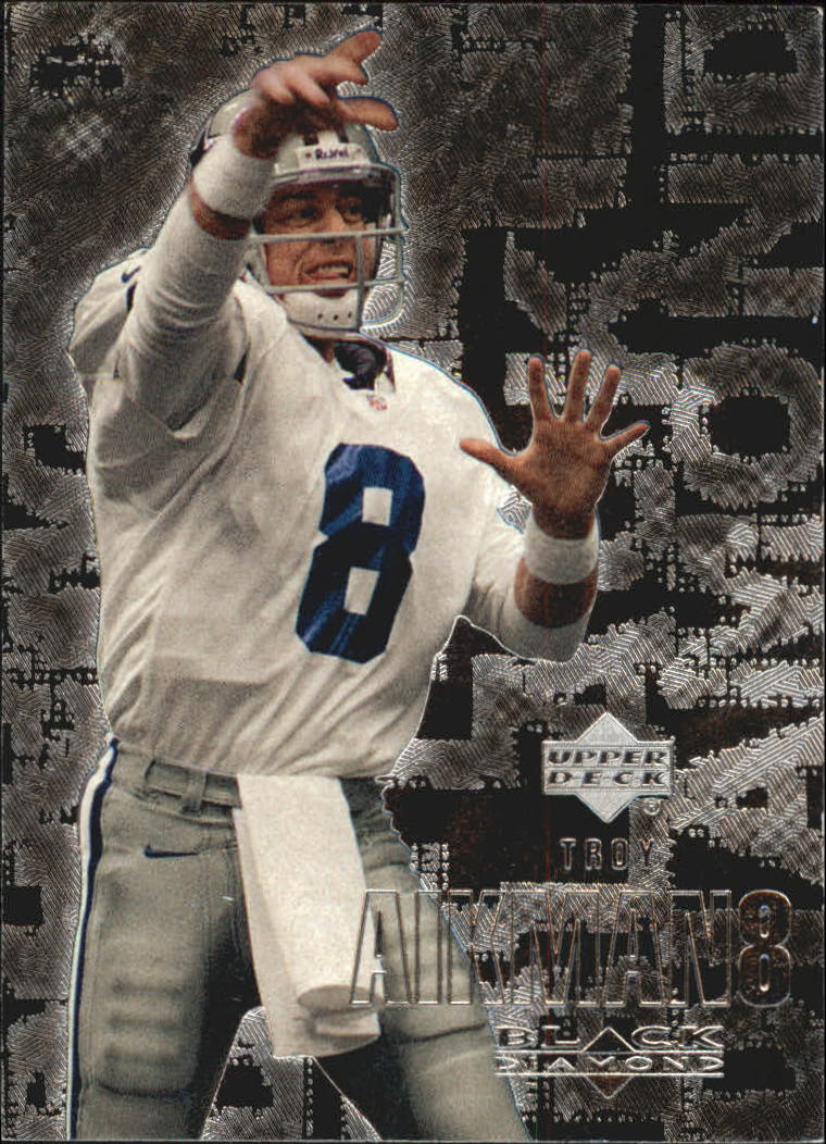 2000 Black Diamond #30 Troy Aikman