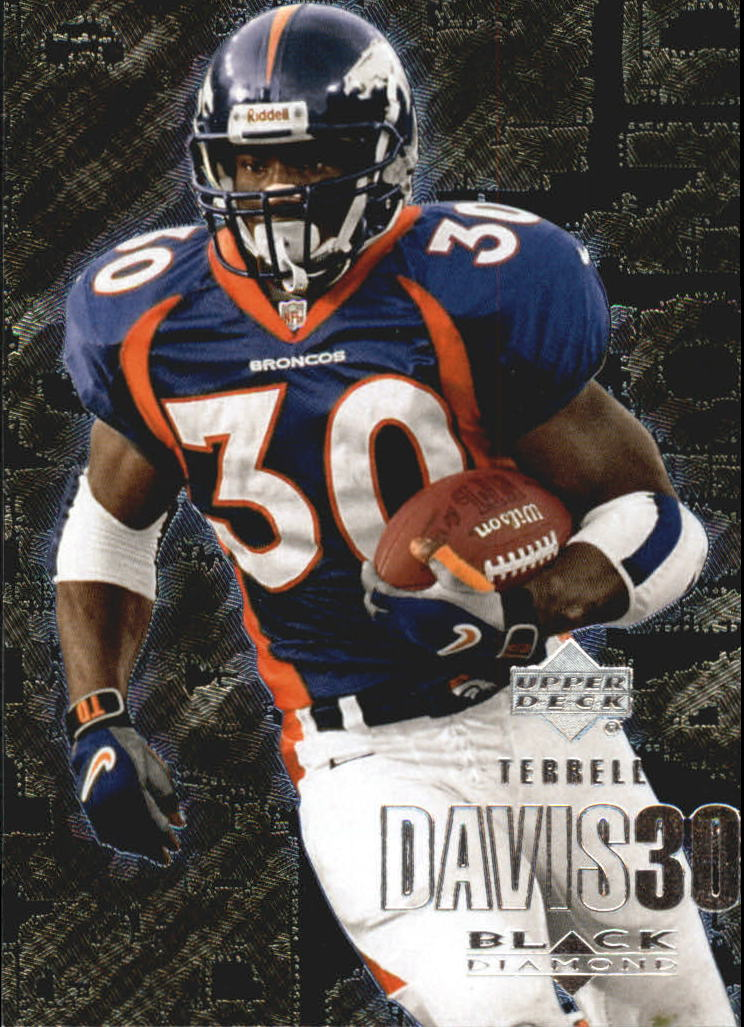 2000 Black Diamond #34 Terrell Davis