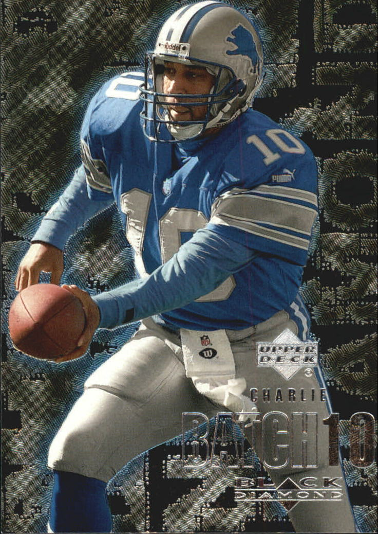 2000 Black Diamond #39 Charlie Batch