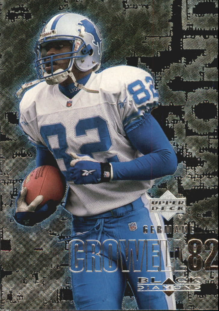 2000 Black Diamond #40 Germane Crowell