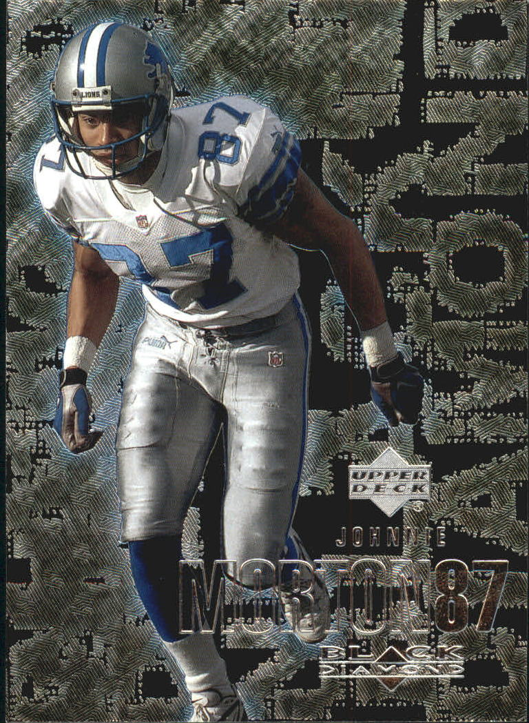 2000 Black Diamond #41 Johnnie Morton