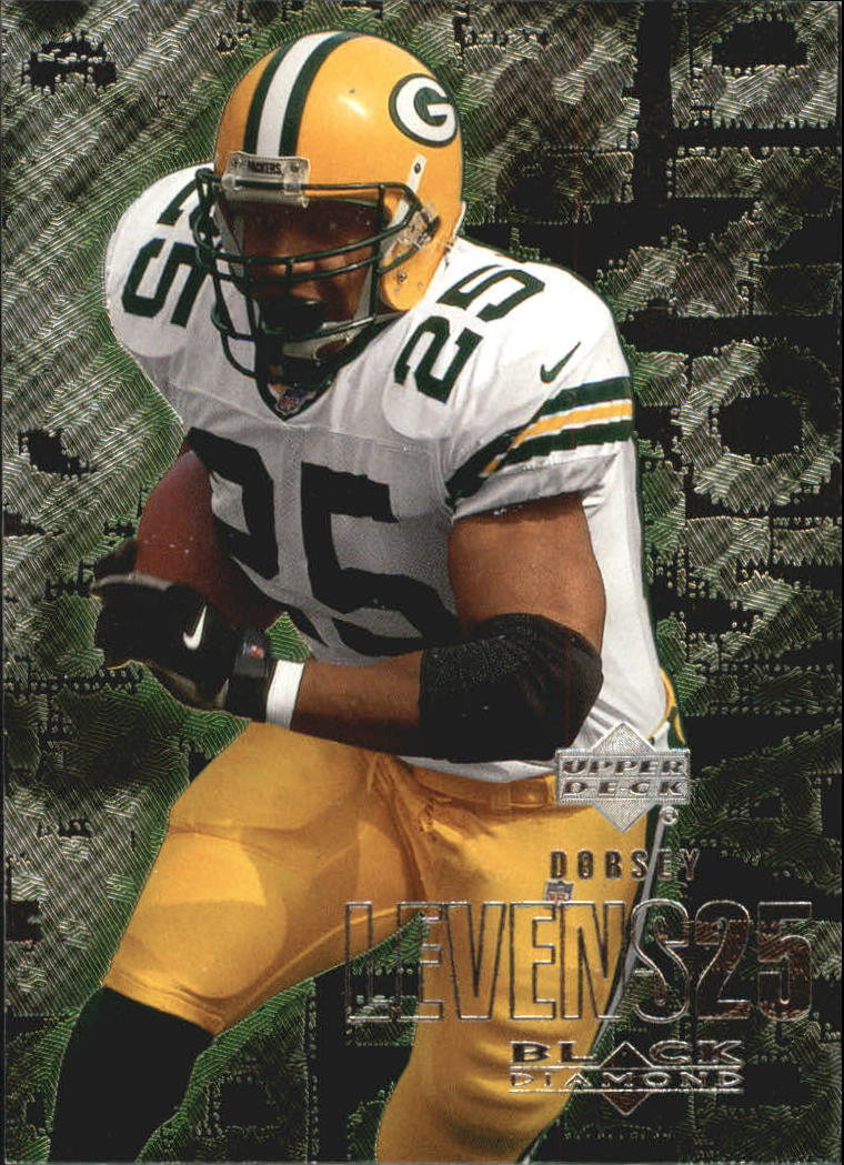 2000 Black Diamond #45 Dorsey Levens