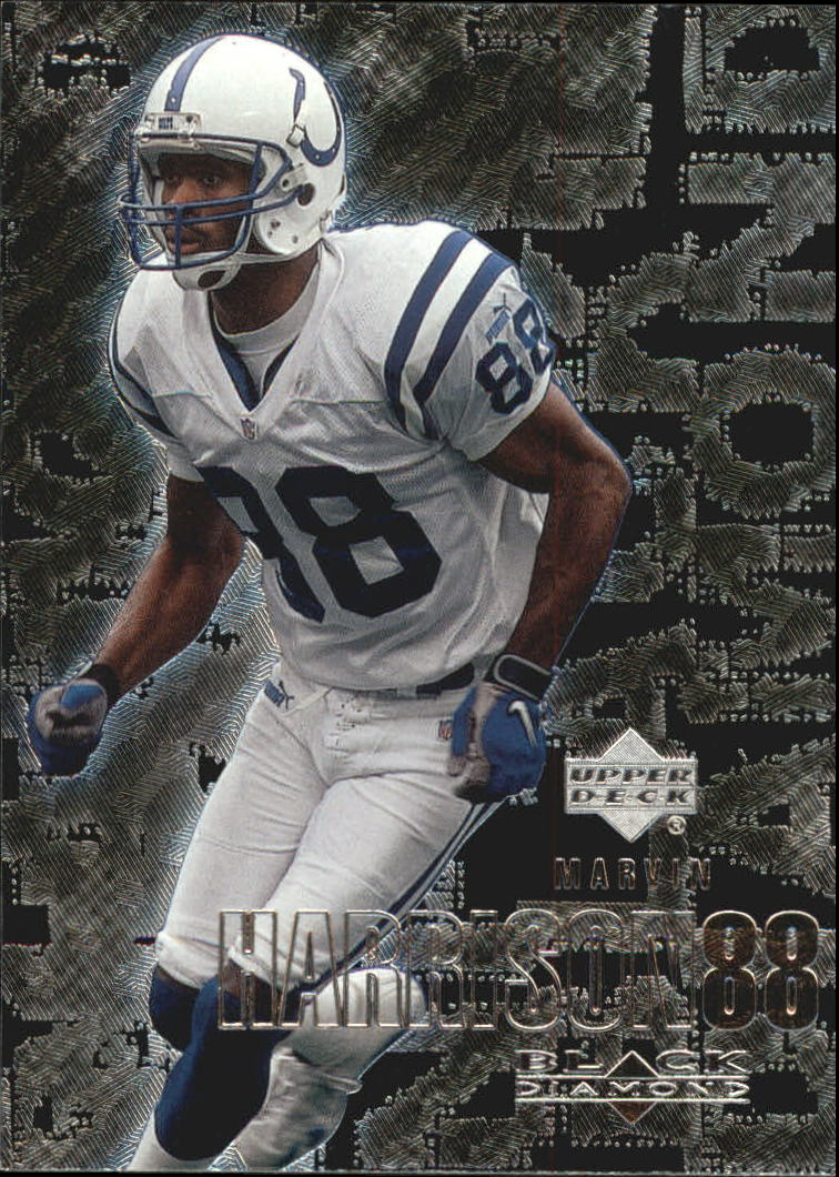 2000 Black Diamond #48 Marvin Harrison