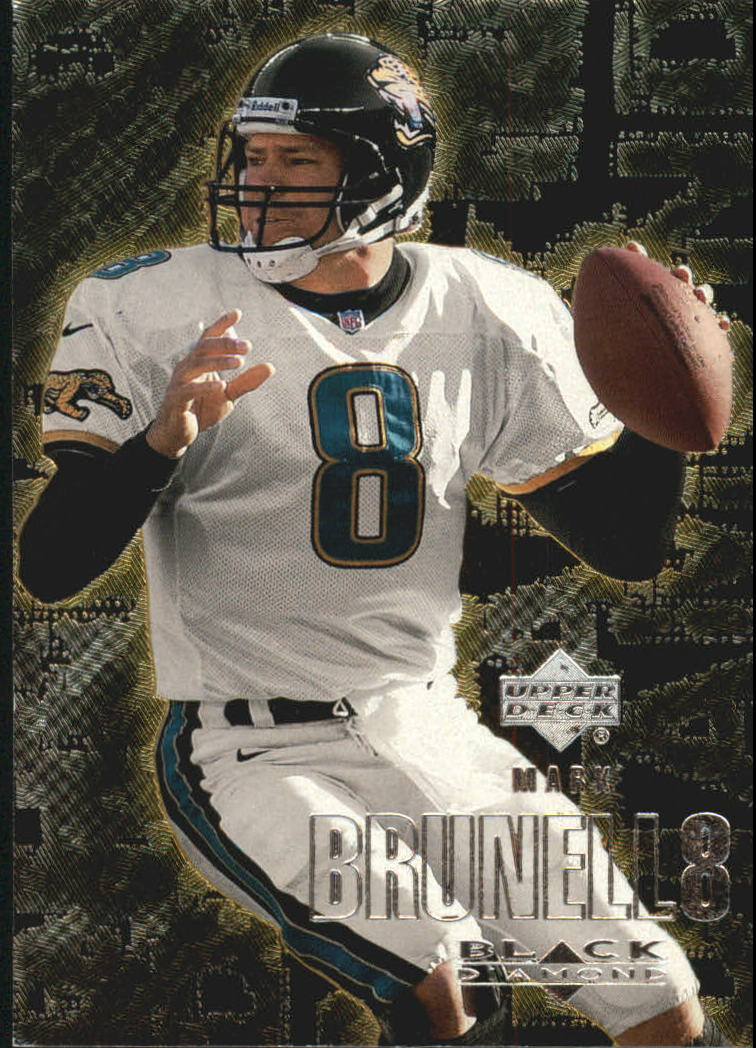 2000 Black Diamond #50 Mark Brunell