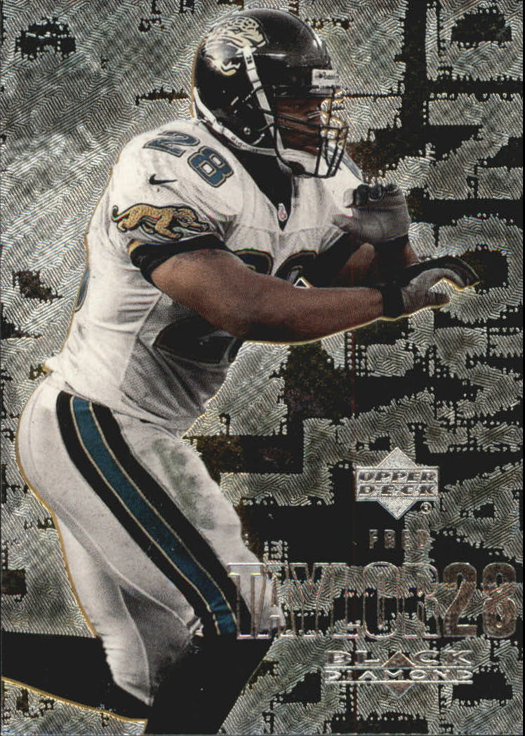 2000 Black Diamond #51 Fred Taylor
