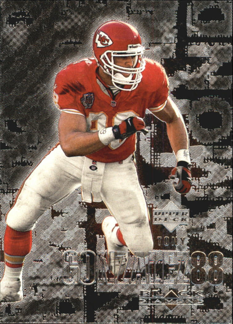 2000 Black Diamond #55 Tony Gonzalez
