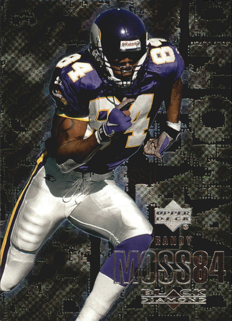 2000 Black Diamond #61 Randy Moss
