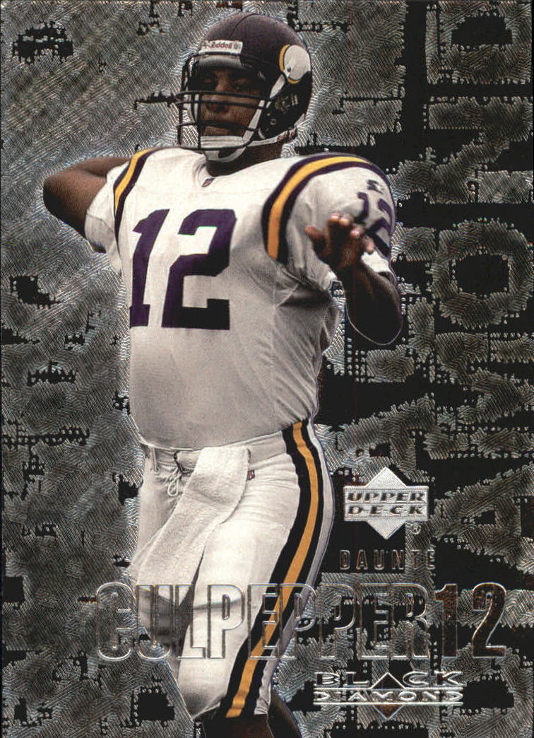 2000 Black Diamond #64 Daunte Culpepper
