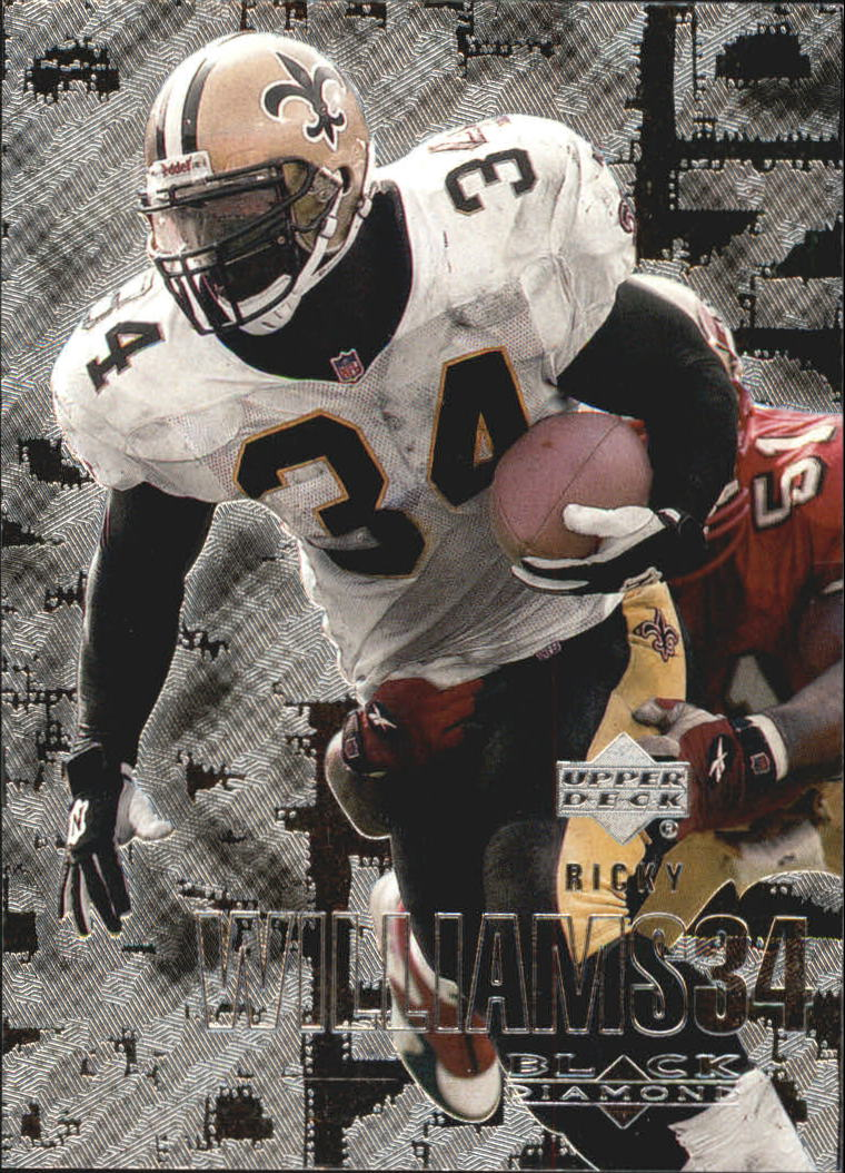 2000 Black Diamond #68 Ricky Williams