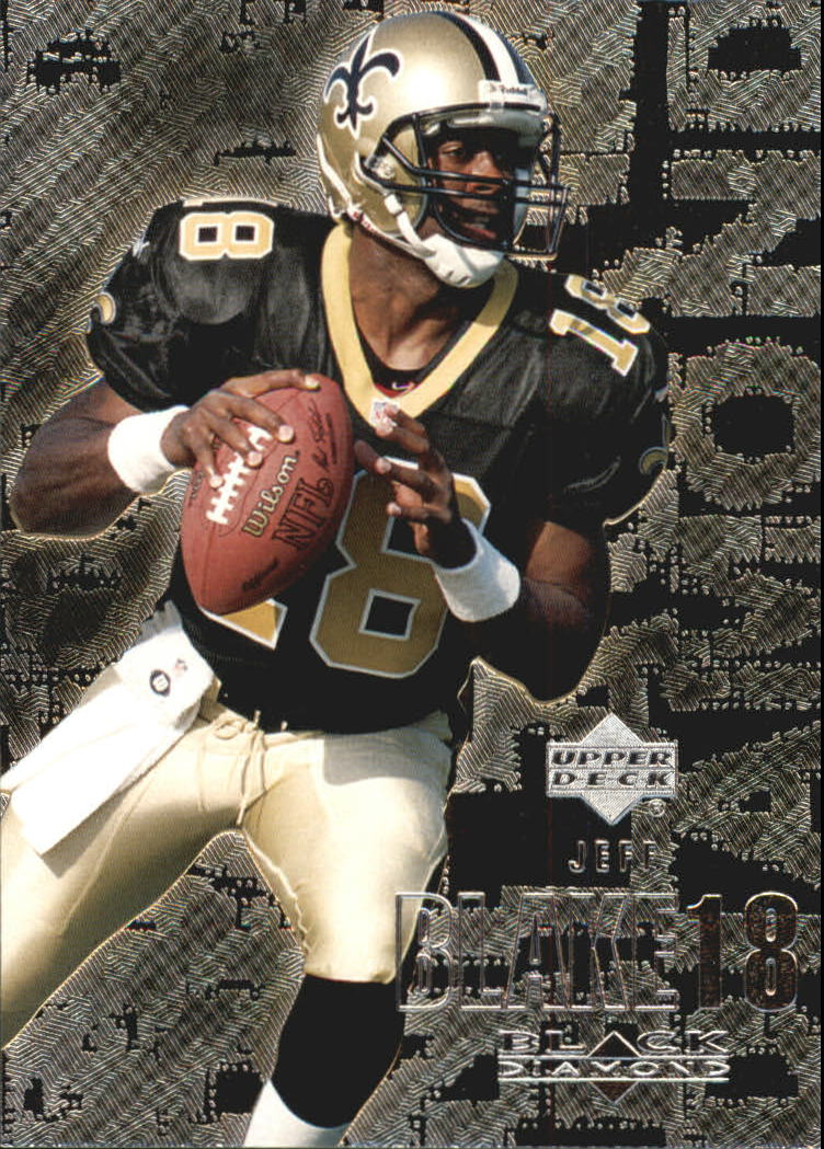 2000 Black Diamond #71 Jeff Blake