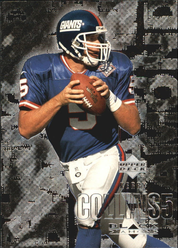 2000 Black Diamond #72 Kerry Collins