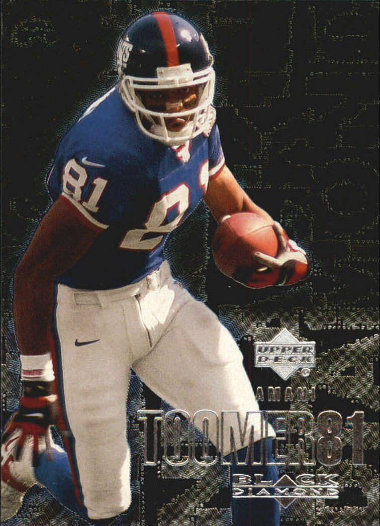 2000 Black Diamond #73 Amani Toomer