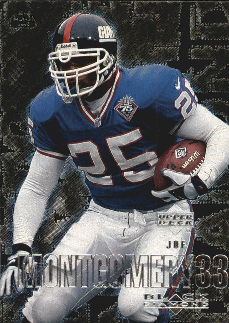 2000 Black Diamond #74 Joe Montgomery