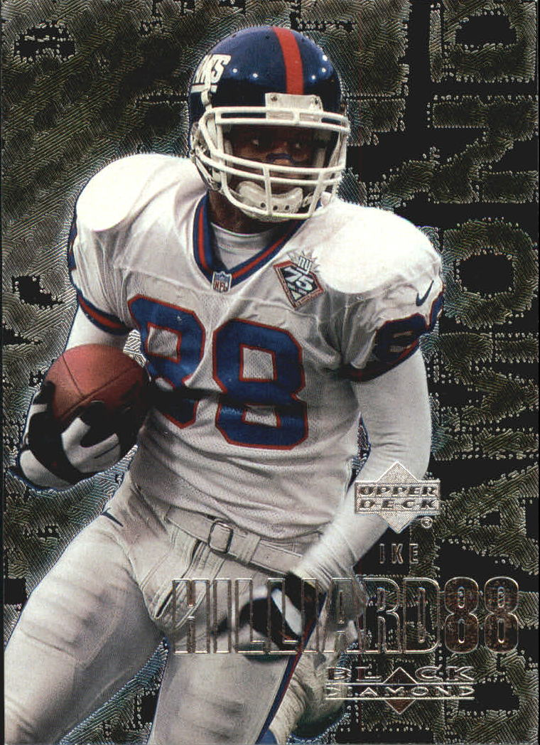 2000 Black Diamond #75 Ike Hilliard