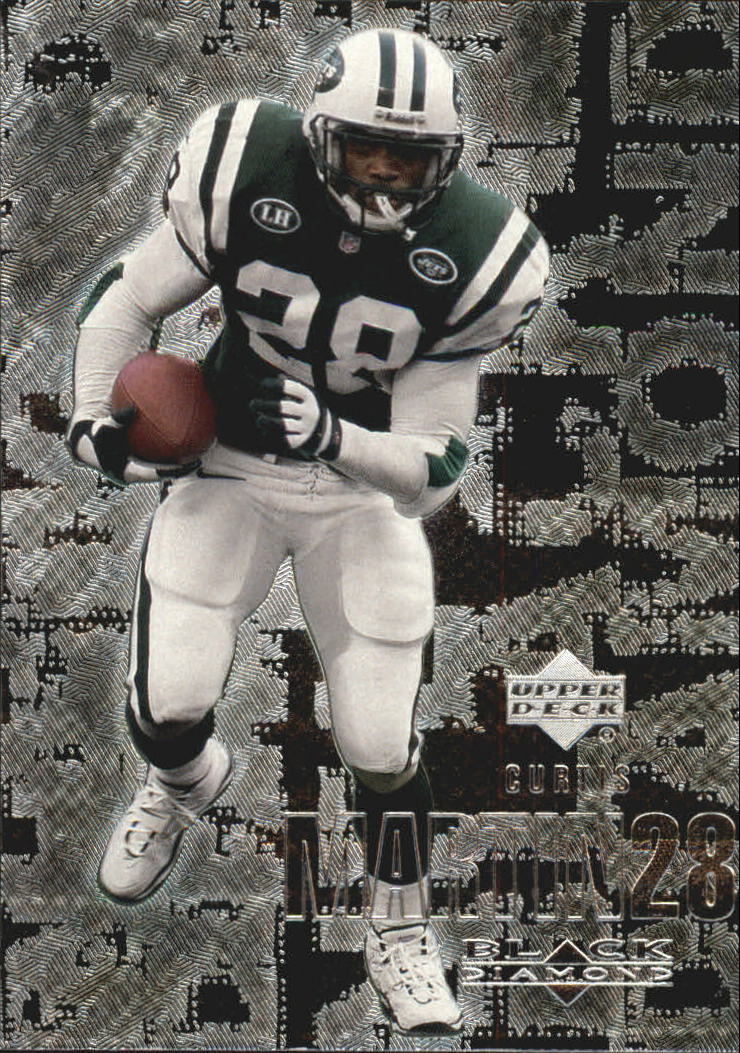 2000 Black Diamond #77 Curtis Martin