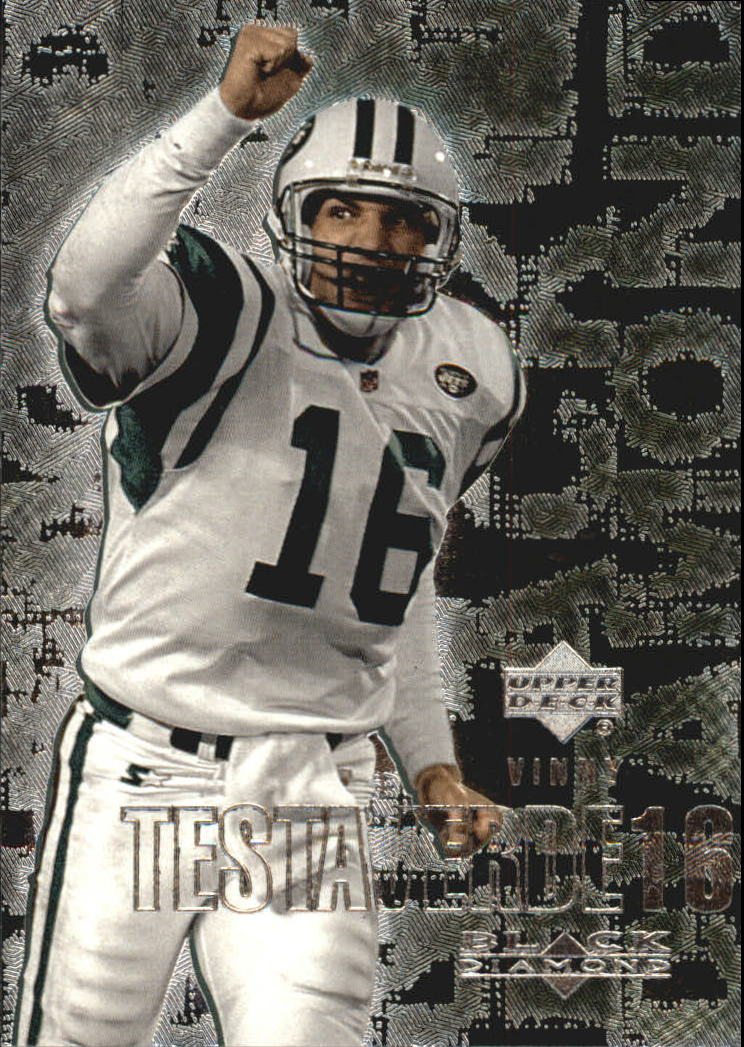 2000 Black Diamond #78 Vinny Testaverde