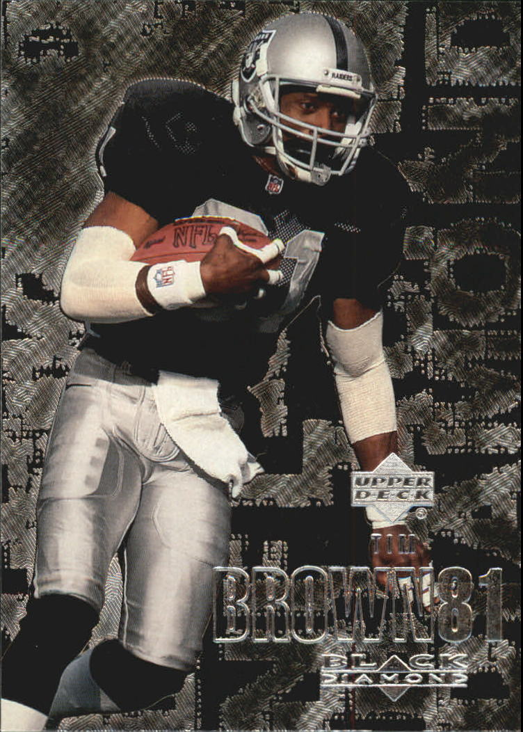 2000 Black Diamond #80 Tim Brown