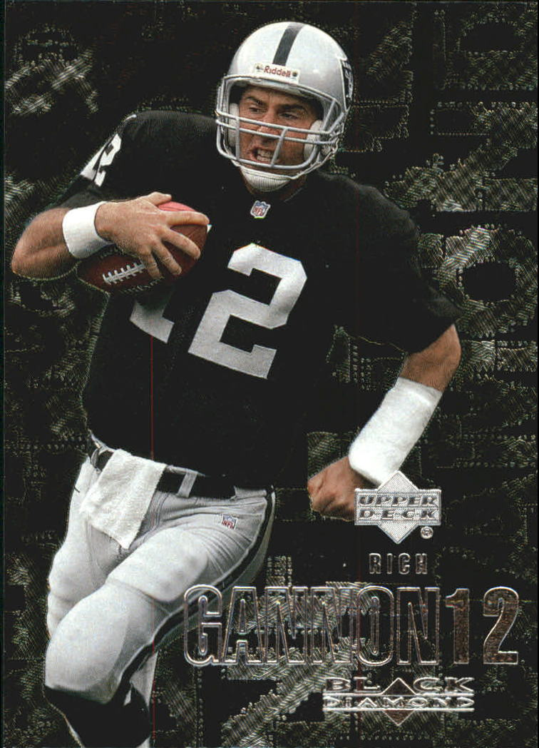 2000 Black Diamond #81 Rich Gannon