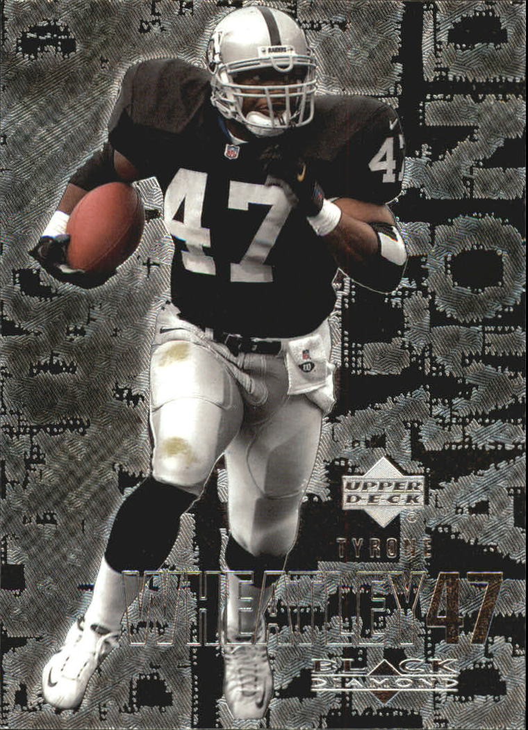 2000 Black Diamond #82 Tyrone Wheatley
