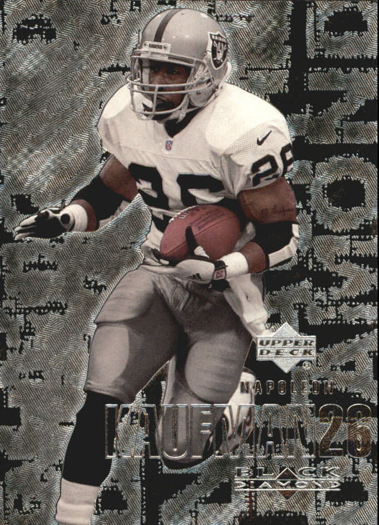 2000 Black Diamond #84 Napoleon Kaufman