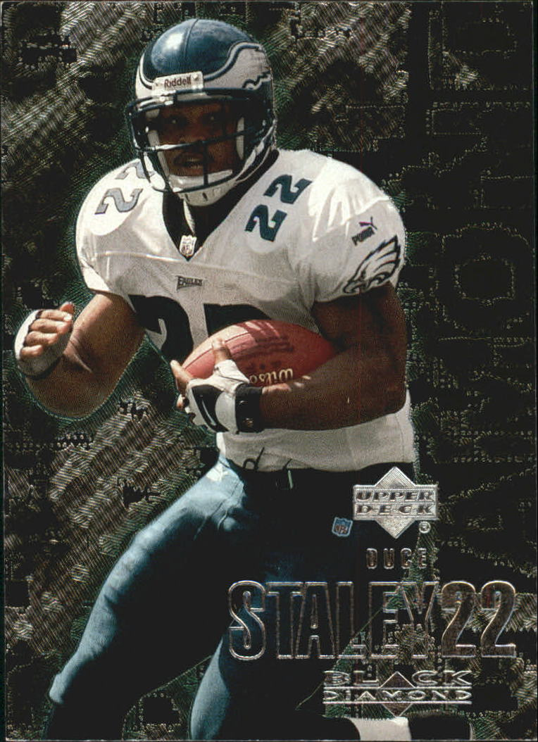 2000 Black Diamond #85 Duce Staley