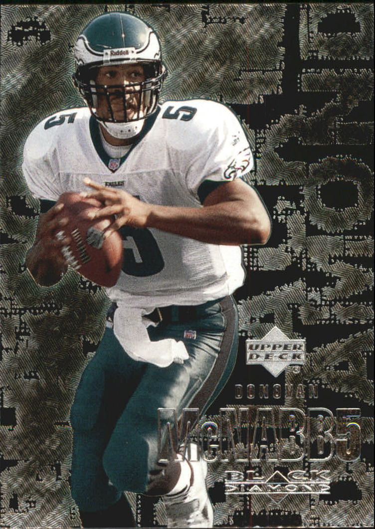 2000 Black Diamond #86 Donovan McNabb
